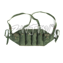 Original Surplus Chinese Type-81/AK-47 Chest Rig Hunting Ammo Pouch Vietnam War Magazine Bag CN.AW/10121