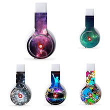 New Fashion Starry Sky Vinyl Decal Skin Sticker For Beats Pro By Dr.Dre Headphones