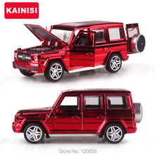 15.5CM Gold plating Alloy Cars G65 Super car Pull Back Diecast Model Toy with light simulation sound Gift toy For Boys Kids(China)