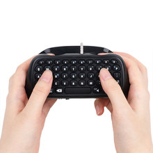 1Pcs Wireless Game Gaming Bluetooth Chatpad Message Keyboard for Sony for PlayStation 4 for PS4 Controller With USB Cable
