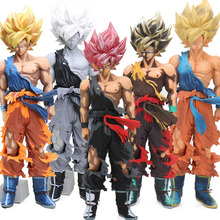 Box 34cm Master Stars Piece Manga Dimensions Super Saiyan Son Goku Action Figure Dragon Ball Z Collection Model Toys Brinqudoes