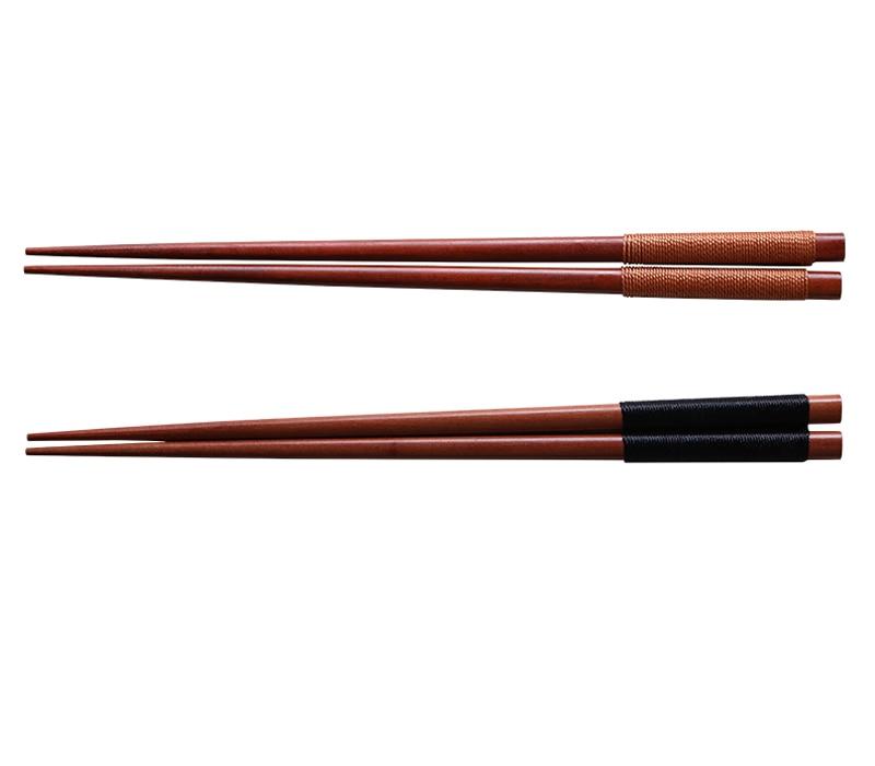 2 Pairs Reusable Wood Chopsticks Korea Japanese Sushi Chopsticks Wood Chinese Sticks for Food Tableware Wooden Kitchen Utensils (6)