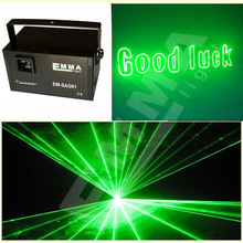 New 1w green Led Wash Beam light dj stage Lighting Effect light auto laser projector Home wedding Dj show