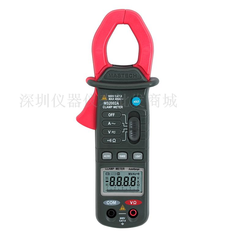 Digital Clamp Meter MASTECH MS2002A 4000 count display 3 3/4 Mini 600V/400A AC current Autorange DC voltage Resistance tester<br><br>Aliexpress