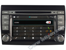"7"" Capacitive Touch Screen Car DVD for Fiat Bravo 2007-2014 & Fiat Bravo 2010-2018 & Fiat Ritmo with Front DVR Camera Support(China)"