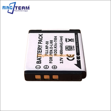 Rechargeable Battery FNP-50 NP-50 NP-50A Compatible Pentax D-Li68 Kodak KLIC-7004 for FinePix F775 EXR REAL 3D W3 X10 XP100 F50(China)
