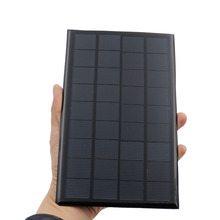 9V 3W 330mA Solar Panel Portable Mini Sunpower DIY Module Panel System For Solar Lamp Battery Toys Phone Charger Solar Cells(China)