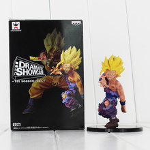 11cm Dramatic Showcase Dragon Ball Super Saiyan Son Gohan PVC Action Figure Collection Model Doll Great Gift