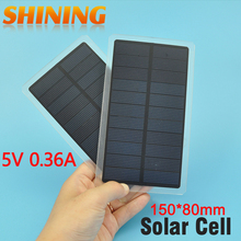 2Pcs/Lot 1.8W Solar Panels Power Cell Battery Wholesale For DIY Study Solar Cell 6V Battery Poly Solar Cell Kits Polycrystalline