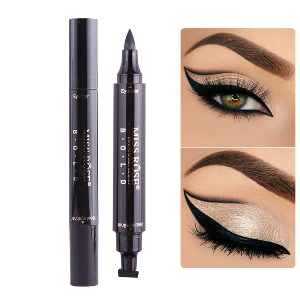 Beauty Essentials Back To Search Resultsbeauty & Health Able Miss Rose Brand Makeup Liquid Eyeliner Pencil Quick Dry Waterproof Black Eye Liner With Seal Stamp Beauty Eye Pencil #250047