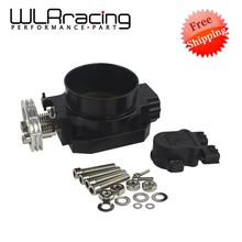 WLR FR SHIPPING- Intake Manifold TPS THROTTLE POSITION SENSOR BLACK 80MM Q45 THROTTLE BODY FOR nissan RB25DET RB26DET RB20DT GTS