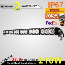 "CRE E 210W 37.9"" LED Light Bar amber Offroad Led Work Lights Combo Beam Driving Ramp"