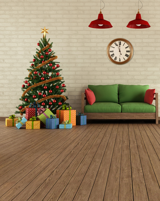 5x7ft customize christmas photography backdrops vinyl digital cloth for photo studio wood siding background L-808<br>