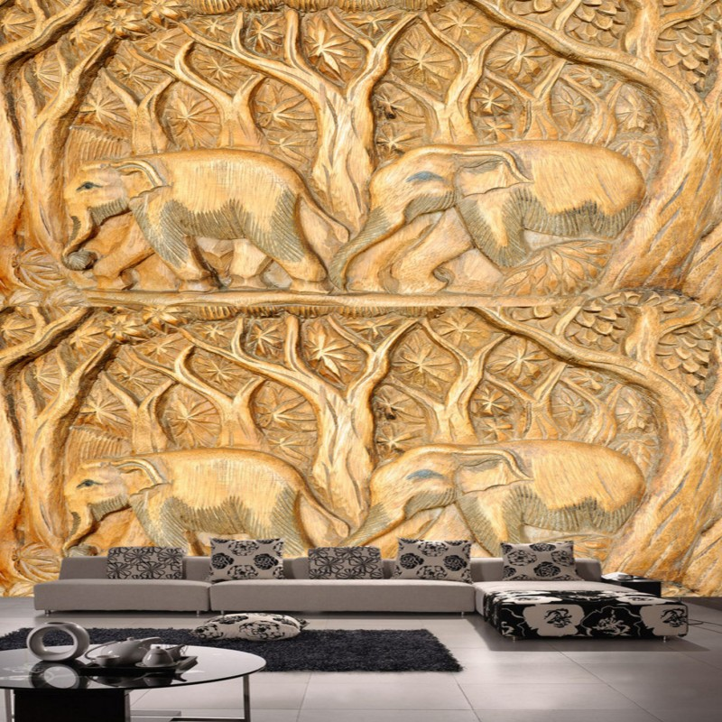 asian bathroom lighting. free shipping southeast asian elephant wood carving tv backdrop custom bedroom bathroom mural stereo living room lighting