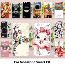 TAOYUNXI Mobile Phone Cases for Vodafone Smart E8 VFD510 VFD-510 5.0 inch Cover Soft TPU DIY Painted Bag Skin Shell Hood(China)