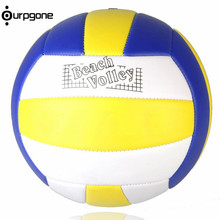 Ourpgone Brand 1*Soft Touch Volleyball Sport Indoor Outdoor Training Ball Size 5 for Kids Adult Outdoor Beach Sport