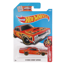 Hot Wheels 2017 Toy Cars Dodge Coronet Camaro SS Fast 4WD 1:64 Metal Diecast Vehicle Cars Moder Collection Gift Toy For Children