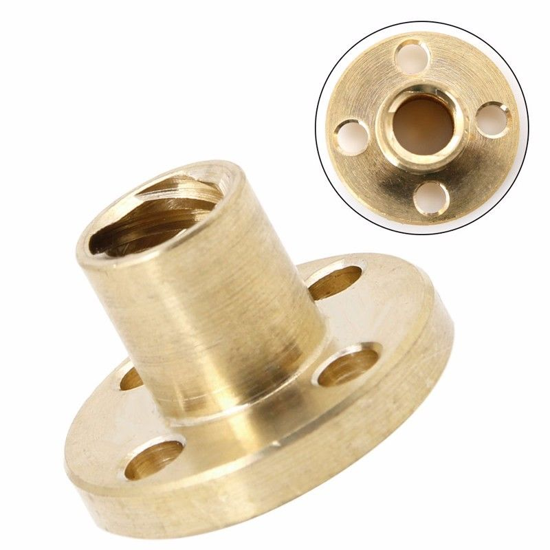 Type T Start Lead 8mm Screw Nut Brass For CNC 3D Printer Parts Printer Z Axis<br><br>Aliexpress