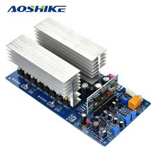 Aoshike 3000W Pure Sine Wave Power Frequency Inverter Board 24V 48V 60V 1500W 3500W(China)
