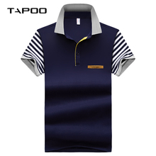 301057aa0817 POLO Shirt Men 2018 Summer Casual Cotton Floral Stand Collar Short Sleeve  Shirts Camisas Polo Solid