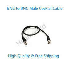 Free shipping High Quality 1M Coaxial BNC to BNC male Coaxial Cable CCTV Video Extension Cable for CCTV Monitoring System