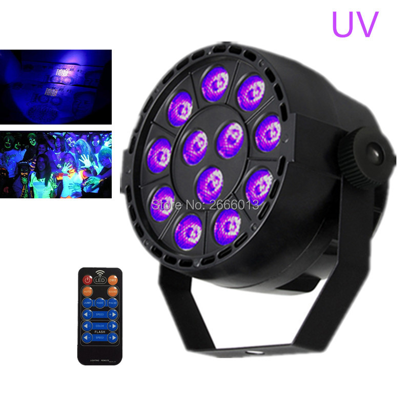 Best quality 36W UV Led Stage lights With Reomte control Ultraviolet Led par Light  UV purple effect DMX512/AUTO/SOUND LED lamp<br>