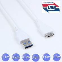 5GPps Micro B USB 3.0 Cable 10cm 20cm 30cm 60cm 100cm 150cm 1ft 2ft 3ft 5ft For IBM thinkpad 8 SSD