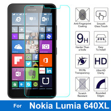 0.26mm Ultrathin Premium Tempered Glass Protective Film for Nokia Microsoft Lumia 640XL Screen Protector 640 XL N640XL Dual Sim