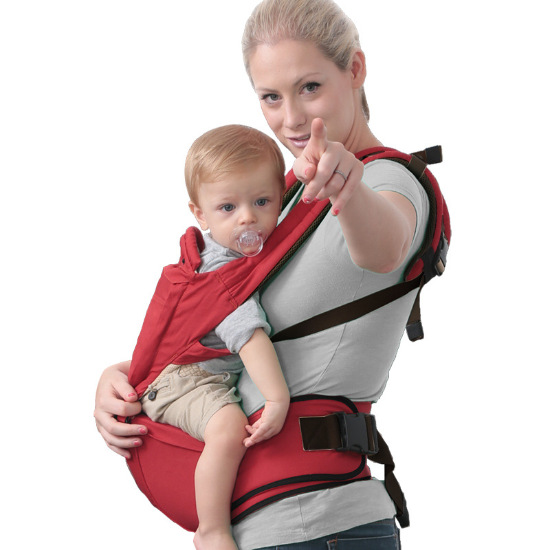 2-48 Months Multifunctional Baby Carrier Shoulders Cotton Net Breathable Baby Sling Kangaroos Baby Wrap<br><br>Aliexpress