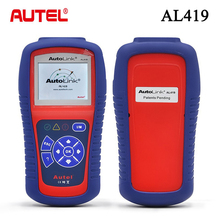 2016 New Arrival Original Autel AutoLink AL419 OBDII and CAN Scan Tool AL 419 Support Online Update Free Shipping(China)