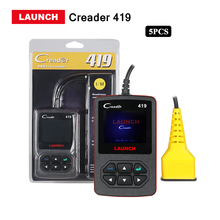 5pcs/lots Launch X431 creader 419 Car diagnostic tool obd2 Code Reader CR419 function same as CR4001 AL319 Support free update(China)