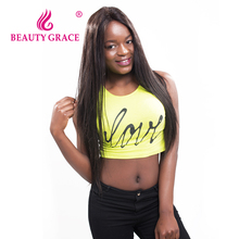 Beauty Grace Brazilian Straight Hair Weave Bundles Natural Color Remy 100% Human Hair Weaving 8-28 Inche Tissage Bresilienne