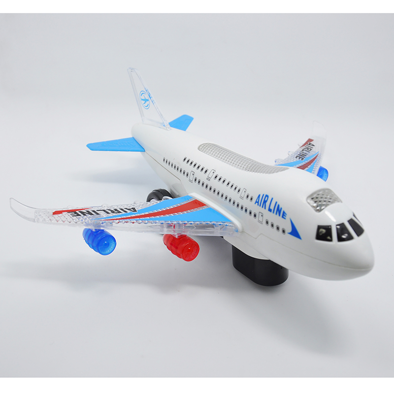 High Quality Most Creative Electric Powered All -direction Airplane and Airliner with Light and Music Special Gifts Kids Toys(China (Mainland))