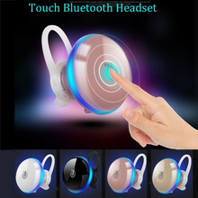 Touch Mini Stereo Bluetooth Headset CSR 4.1  Sport Wireless Bluetooth Handsfree Earphone Headphones For iphone Samsung phone