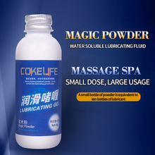 Buy COKELIFE Magic Powder Lubricant Mix Water 5g Create 50g Water Based Lubricants Fisting Sexual Anal Gel Body Massage oil