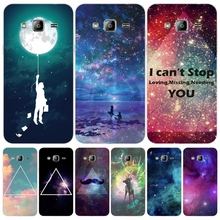 New Fashion Promotion Space Universe cover phone case for Samsung Galaxy J1 J2 J3 J5 J7 MINI ACE 2017 2016 2015
