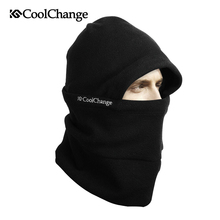 CoolChang Warm Winter Ski Hat Bicycle Face Mask Cap Thermal Fleece Mask Cycling Motorcycle Sports Snowboard Bike Face Mask Scarf(China)
