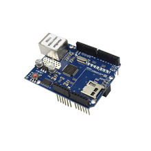 Freeshipping Ethernet W5100 Network Expansion Board SD Card arduino UNO Shield - 3D printer series& For Arduino store