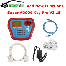 2017 Newest V3.15 Super AD900 Pro Key Programmer AD 900 Transponder Programmer Car Key Programmer With 4D Function Clone Key