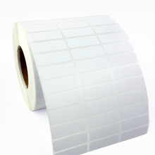 heat  transfer adhesive label roll 30mm  x12mm(10000 stickers)  use with ribbon for zebra
