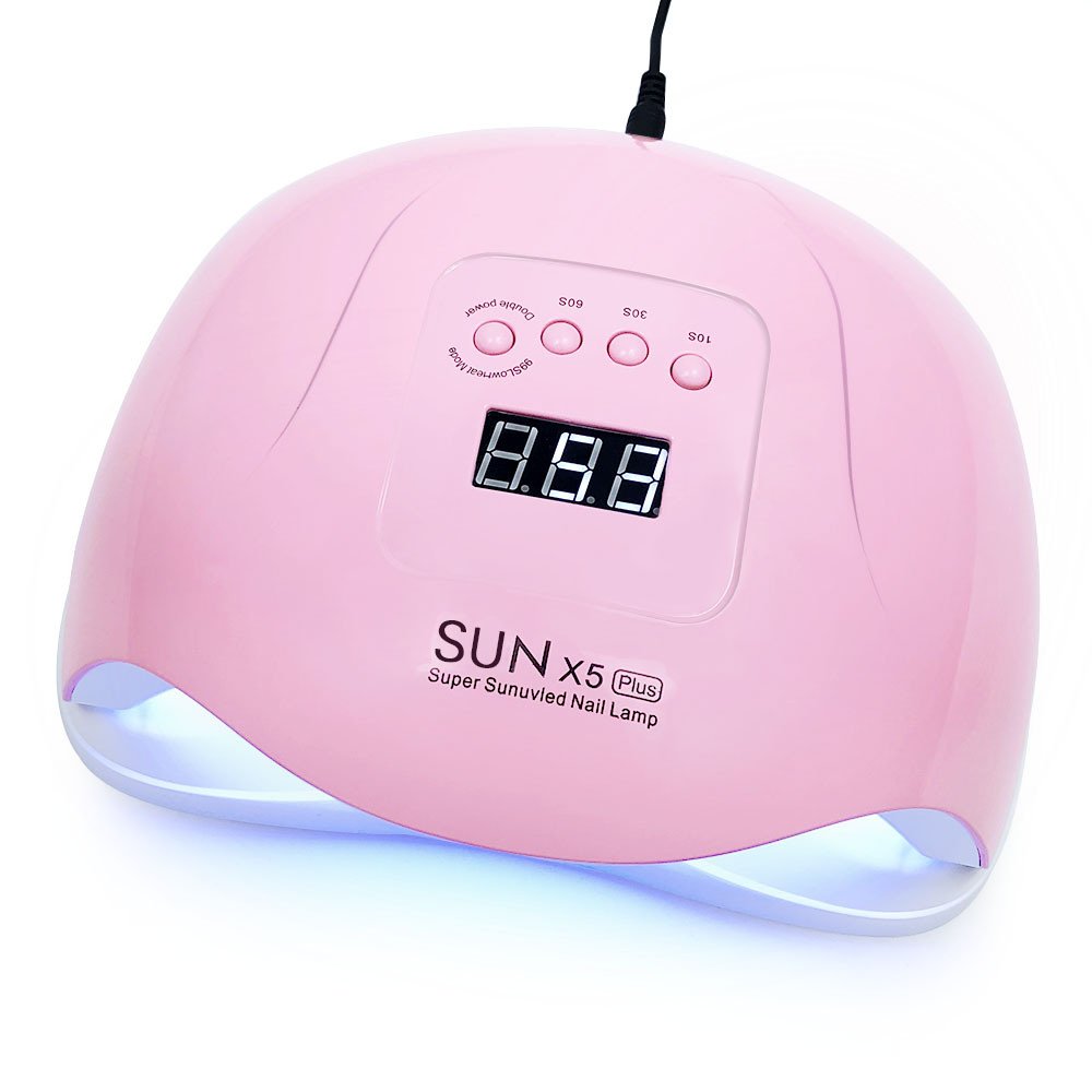 2019 New SUN 5 X Plus UV LED Lamp 72W Nail Dryer With Auto Sensor LCD Display 36 LED Nail Dryer Lamp For manicure Gel Polish
