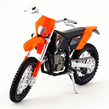 Maisto 1/18 Model Motorcycle Toy, Diecast KTM 450 EXC Mountain Bike Model, Simulation Car Models, Kids Toys, Brinquedos Gift