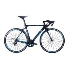 SOBATO Size 48CM 2*11 spped Toray Full Carbon Road Bike with alloy wheelset 50mm Racing TT road bike 700C(China)
