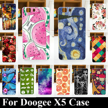 Solf TPU Silicone Case For DOOGEE X5/X5 PRO Mobile Phone Cover Bag Cellphone Housing Shell Skin Mask Color Paint Shipping Free