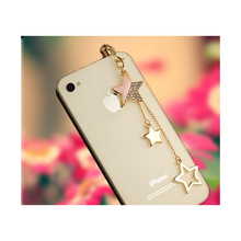 Star Design 3.5mm Tassels Dust Plug Earphone Jack Plug Headset Stopper Cap Cell Charms for Iphone SE6S 5S Ipod Samsung Galaxy S7