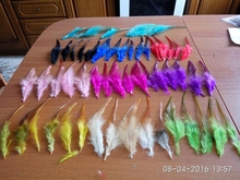 heat! sell 100 pc colors pheasant feather, 10-15cm long, DIY jewelry decoration(China)