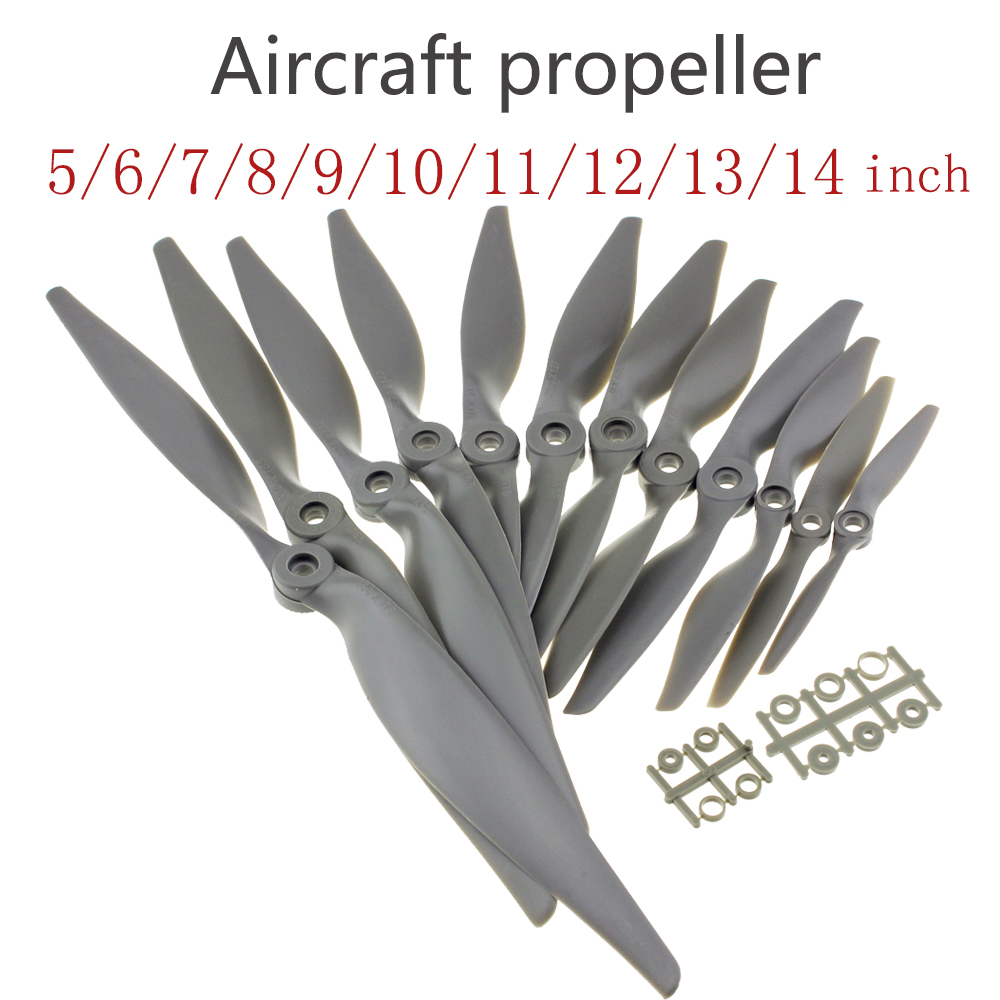 GEMFAN APC RC Props Aircraft Propeller 5 6 7 8 9 10 11 12 13 14 Inch for RC Airplane Aircraft Model Pros(China)