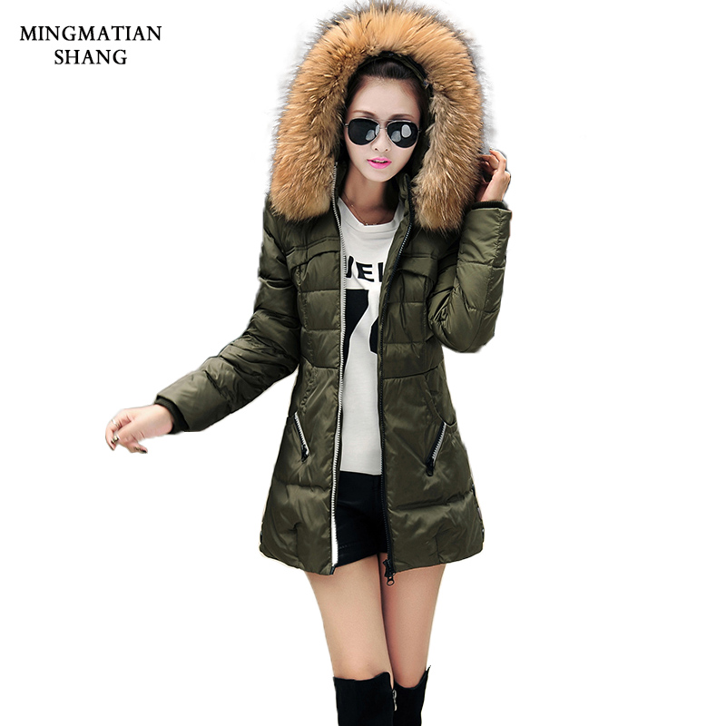 Manteau Femme Winter Jacket Women Coats Parka Jackets Female Ukraine Canada Long Woman 2017 Hooded Fur Collar Down Clothings XXLОдежда и ак�е��уары<br><br><br>Aliexpress