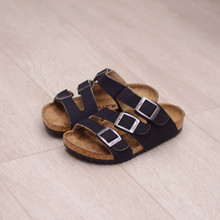 New Summer Kids Children Shoes Girls Sandals Toddler Baby Boys Flip Flops Sandals High Quality Pu Leather Sandals For Girls