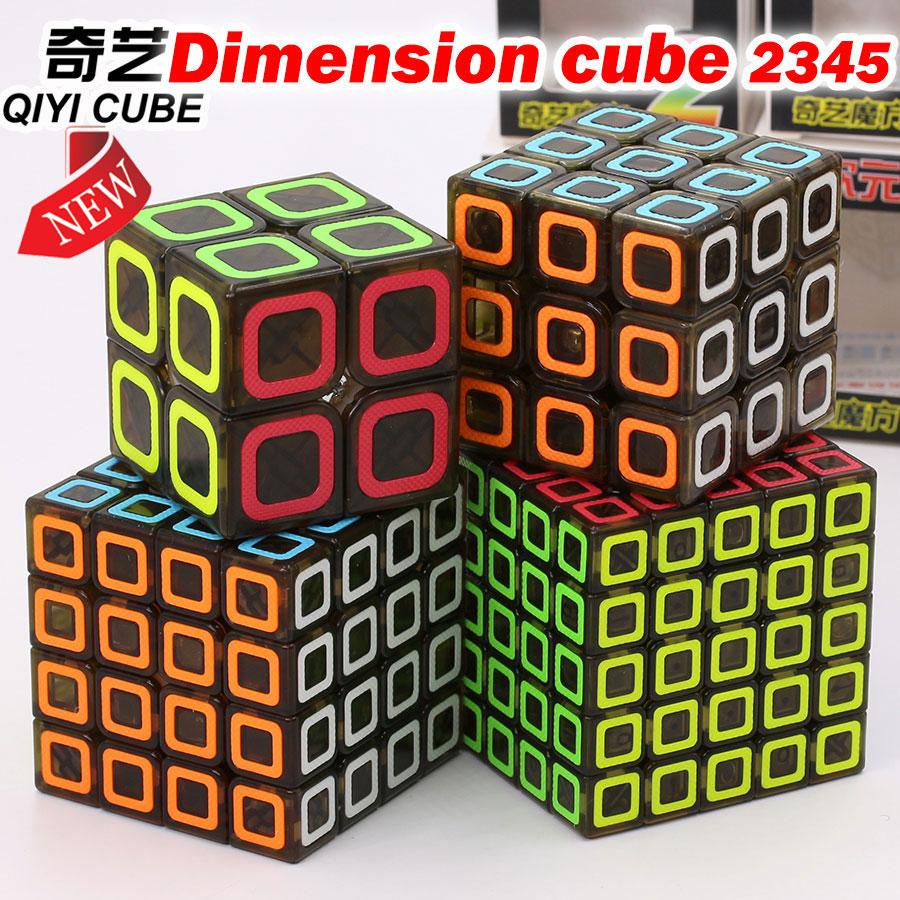 Puzzle Magic Cube QiYi Dimension cube 222 333 444 5555 2x2x2 3x3x3 4x4x4 5x5x5 entry cube easy learning educational logic game Z